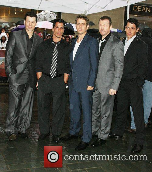 Jordan Knight, Donnie Wahlberg and New Kids On The Block 2