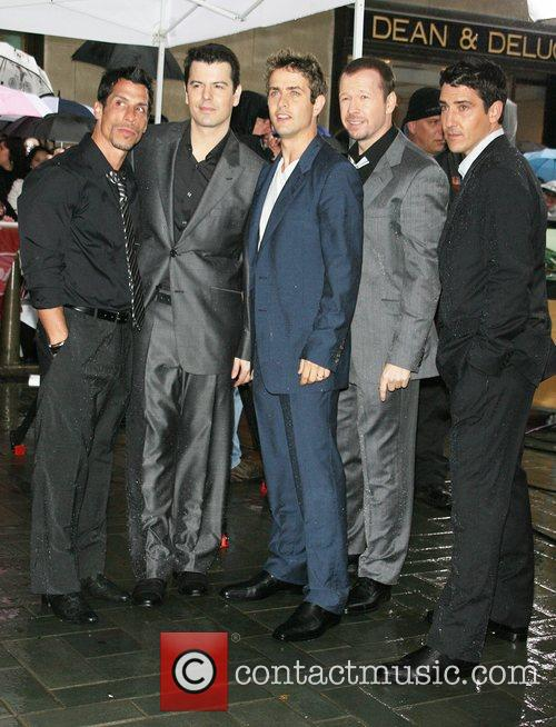 Jordan Knight, Donnie Wahlberg and New Kids On The Block 8