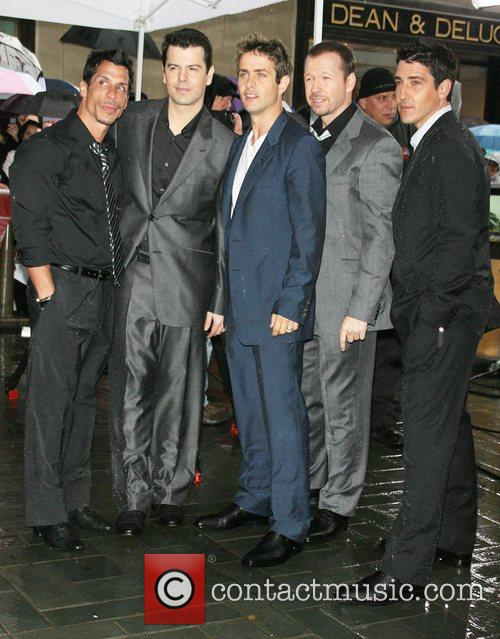 Jordan Knight, Donnie Wahlberg and New Kids On The Block 5