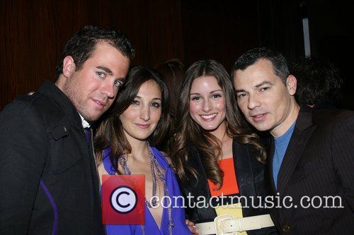 Nicole Romano, Olivia Palermo, Gustavo Arango, and guest...