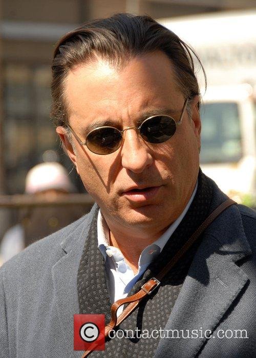 Andy Garcia on the film set of 'New...