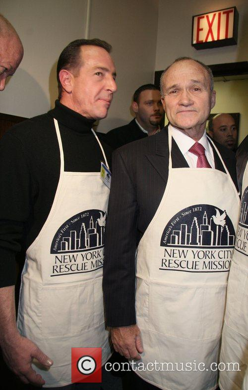 Michael Lohan and Raymond W. Kelly - Commissioner...