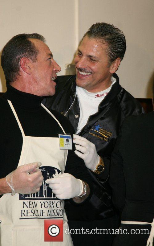 Michael Lohan and his spiritual advisor New York...