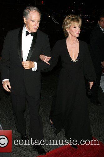 Jane Fonda and guest New Line's 40th Anniversary...