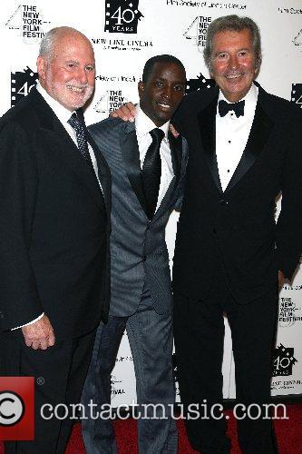 Michael Lynne, Elijah Kelley, Bob Shaye New Line's...
