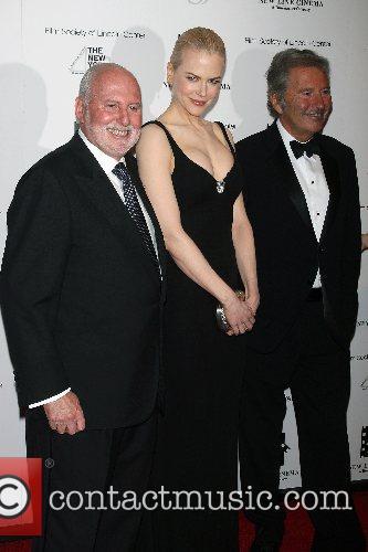 Michael Lynne, Nicole Kidman, Bob Shaye New Line's...