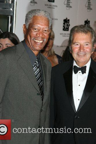 Morgan Freeman, Bob Shaye New Line's 40th Anniversary...