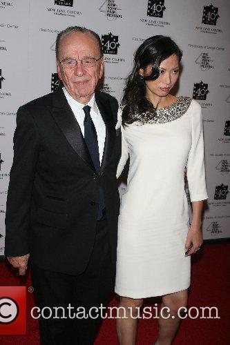 Rupert Murdoch New Line's 40th Anniversary Gala at...