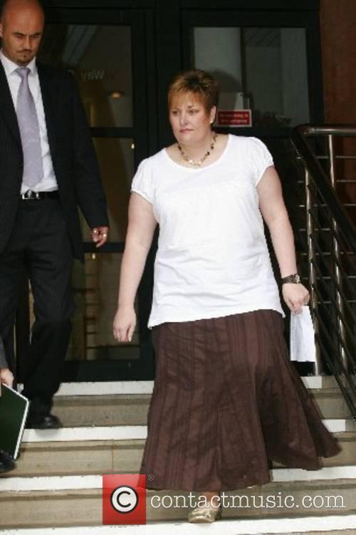 Andie Hatchett,(wife of stabbing victim CPO Gary Hatchett...