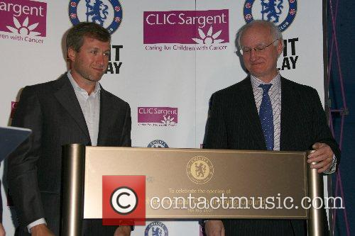 Roman Abramovich and Bruce Buck Chelsea FC unveiled...