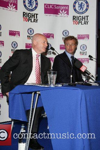 Peter Kenyon and Simon Taylor Chelsea FC unveiled...