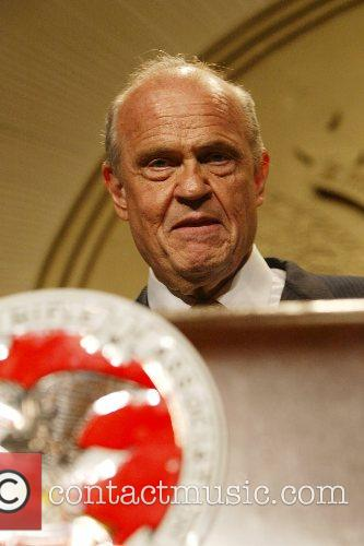 Fred Thompson (formerly from Law & Order) speaks...