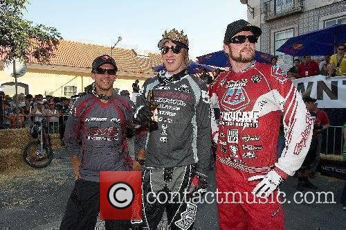 Filip Polc, Steve Peat and Nathan Rennie 8th...