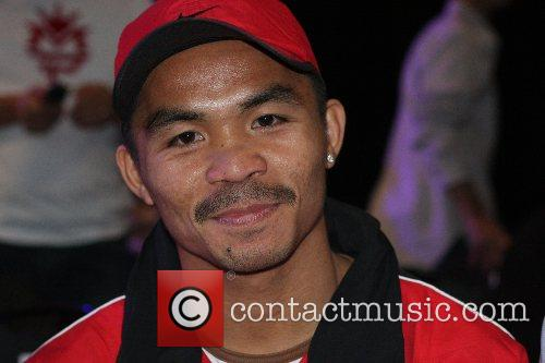 Manny Pacquiao Press conferrence for the upcoming championship...