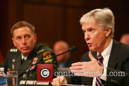 Gen. David Petraeus and Ambassador Ryan Crocker General...