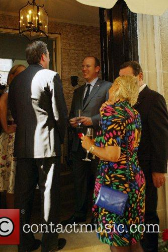 The Embassy of Monaco welcomed Prince Albert of...