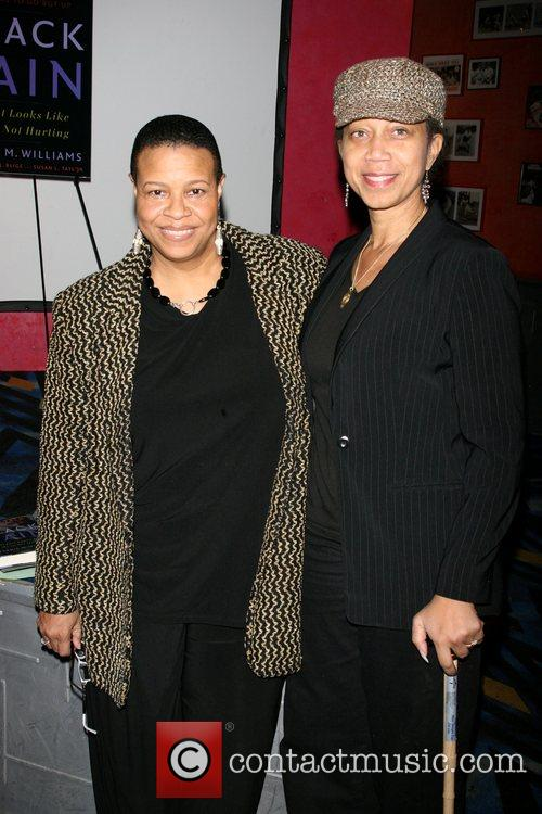 Terrie Williams and Attallah shabazz The Stay Strong...