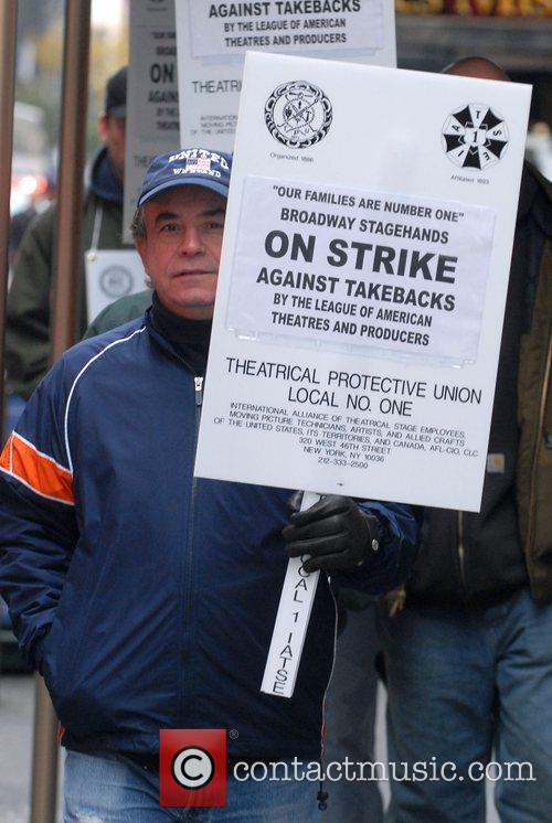 Broadway Stagehands Local One on strike