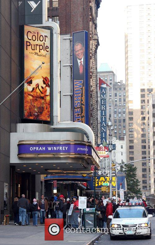 Broadway's 'Stagehands Local One' on strike in the...