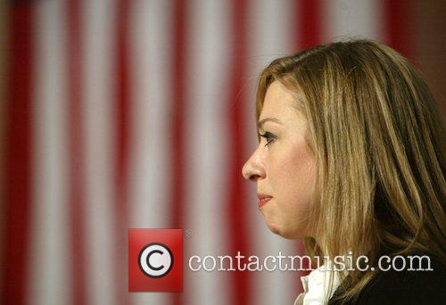 Chelsea Clinton speaks during a fundraising event at...