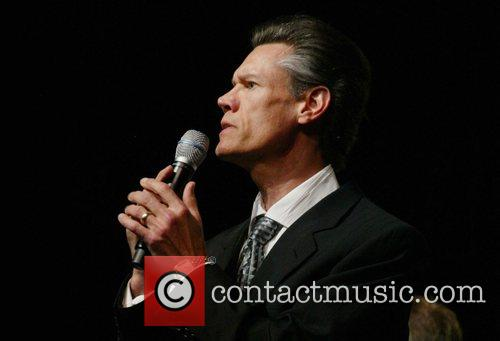 Randy Travis sings the national anthem Christians United...
