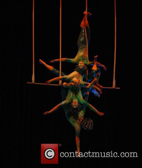 'Cirque Du Soleil' performance at Royal Albert Hall...
