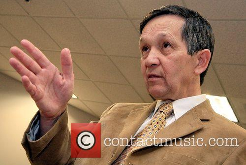 Dennis Kucinich, Democratic presidential contender and Ohio congressman...