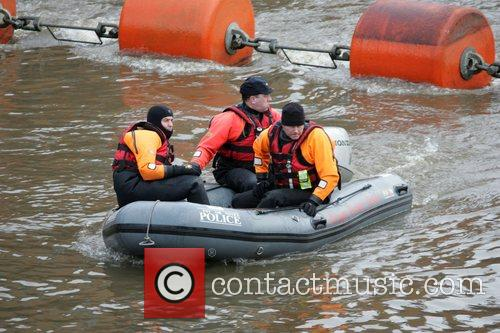 Underwater Search Units are currently searching the River...