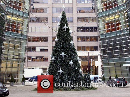Holiday Tree on East 59th Street Holiday decorations...