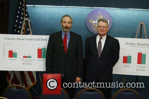 Bill Hampel of CUNA and Stephen Brobeck of...
