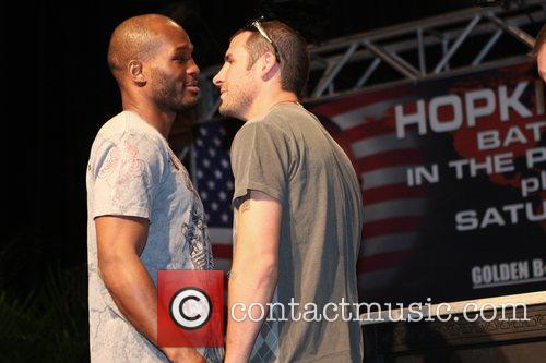 The final press conference for Bernard Hopkins and...
