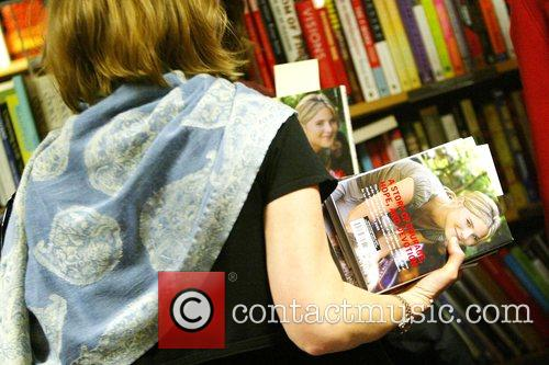 Fan Jenna Bush signs copies of her new...