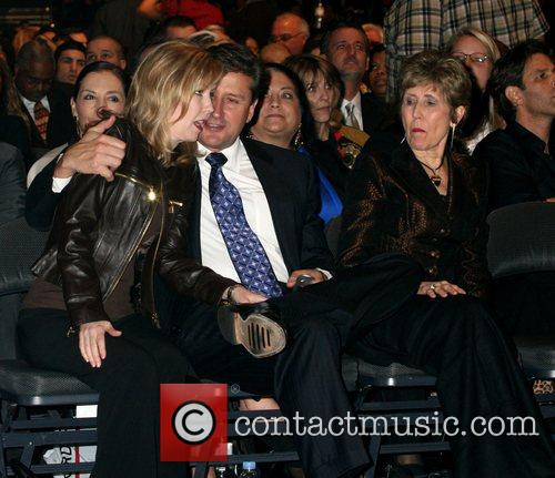 Joel Osteen's sister and brother-in-law with his mother...