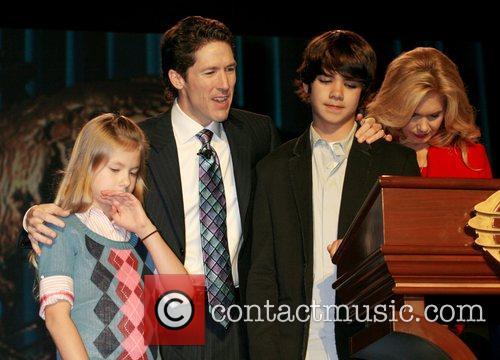 Joel Osteen Family Children Picture - alexandra osteen at