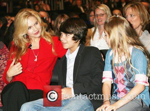 Victoria Osteen, Jonathan Osteen and Alexandra Osteen An...