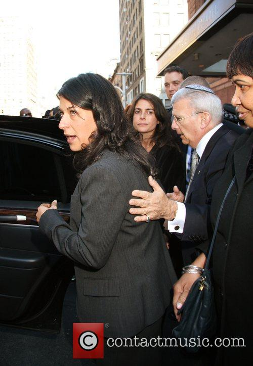 Funeral of Lisa Stein, 'Realtor to the Stars,'...