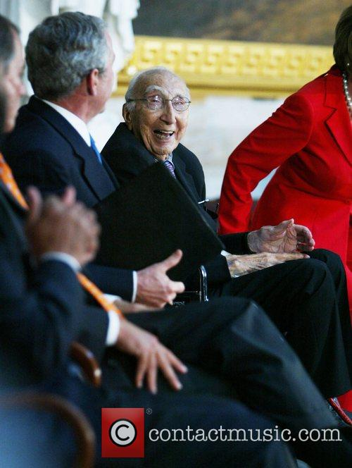 President George Bush and Dr. Michael E. DeBakey...