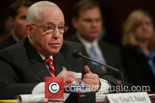Attorney General Michael Mukasey testified in front of...