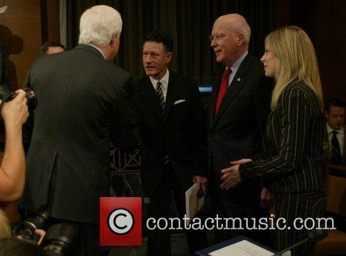 Senator Cornyn and Lyle Lovett 2