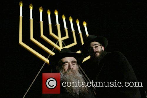 Rabbi Abraham Shemtov and Rabbi Ceitlin National Hanukkah...