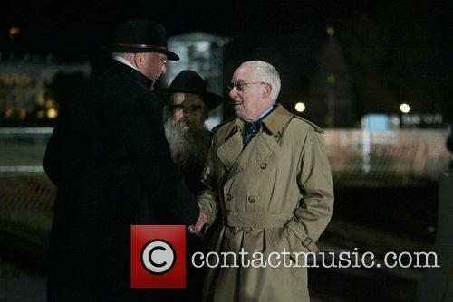 Senator Patrick Leahy, Rabbi Abraham Shemtov and U.S....