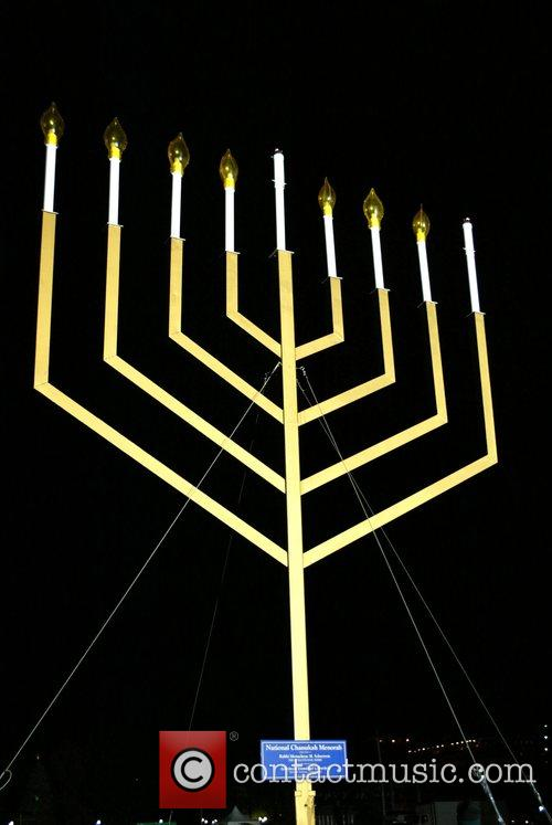 National Hanukkah Menorah Lighting Ceremony at the Ellipse,...