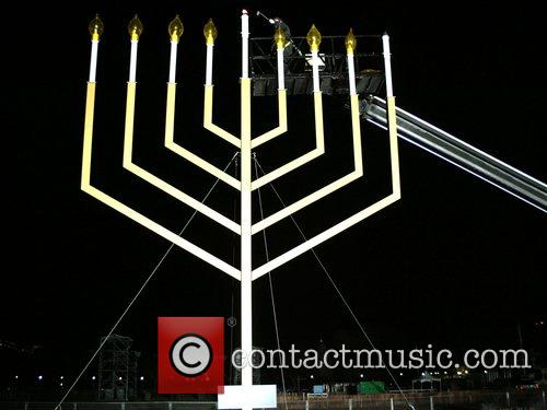 The Menorah National Hanukkah Menorah Lighting Ceremony at...