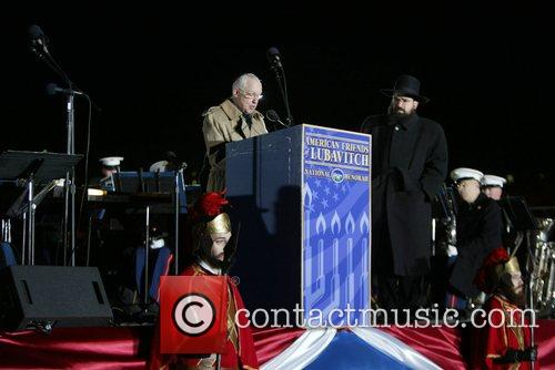 U.S. Attorney General Michael Mukasey and Rabbi Levi...