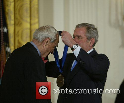 Henry Steinway and President George Bush  2007...