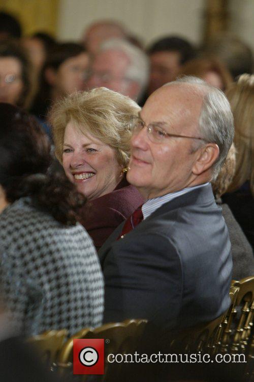 Senator Craig and wife  2007 National Medal...