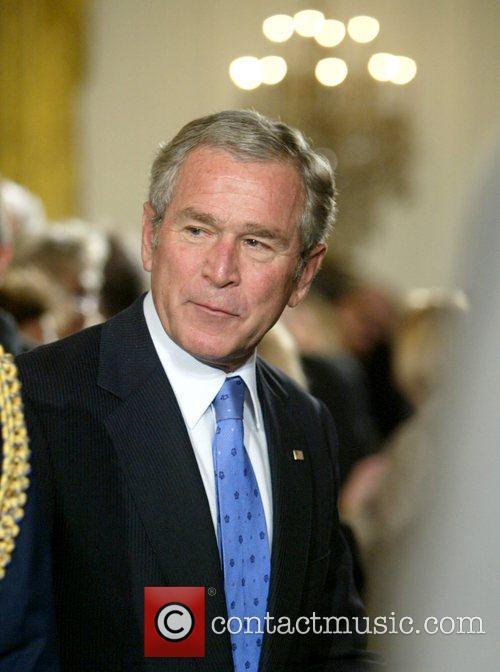 President George W. Bush  presents the 2007...
