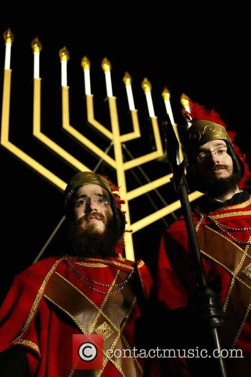 Atmosphere National Hanukkah Menorah Lighting Ceremony Washington DC,...