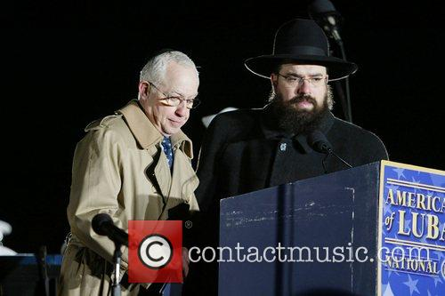Attorney General Michael B. Mukasey and Rabbi Levi...