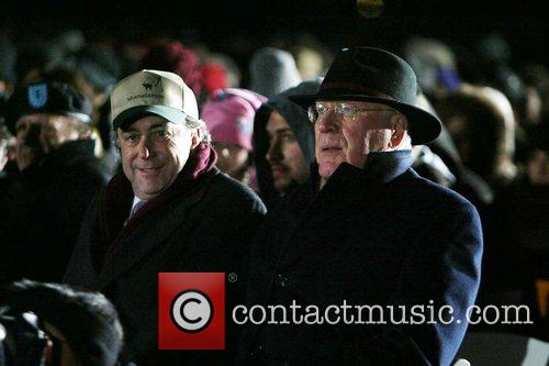 Senator Patrick Leahy (right) National Hanukkah Menorah Lighting...